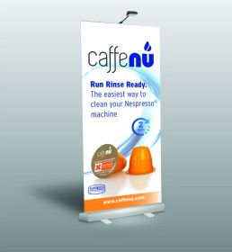 CaffeNu Pull-up Banner