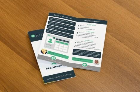 Recomed Bi-Fold Brochure
