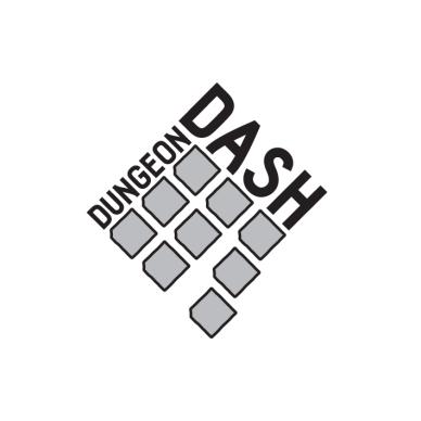 Dungeon Dash Game Logo