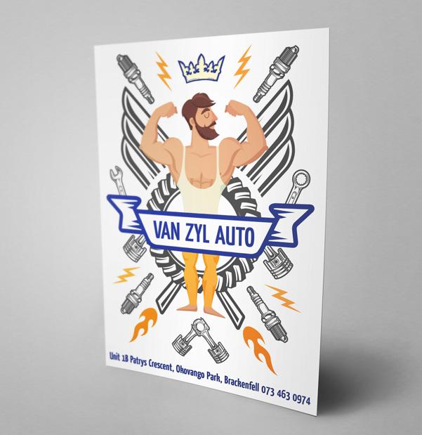 Van Zyl Auto Flyer
