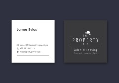 The Property Guy Logo & Business Card