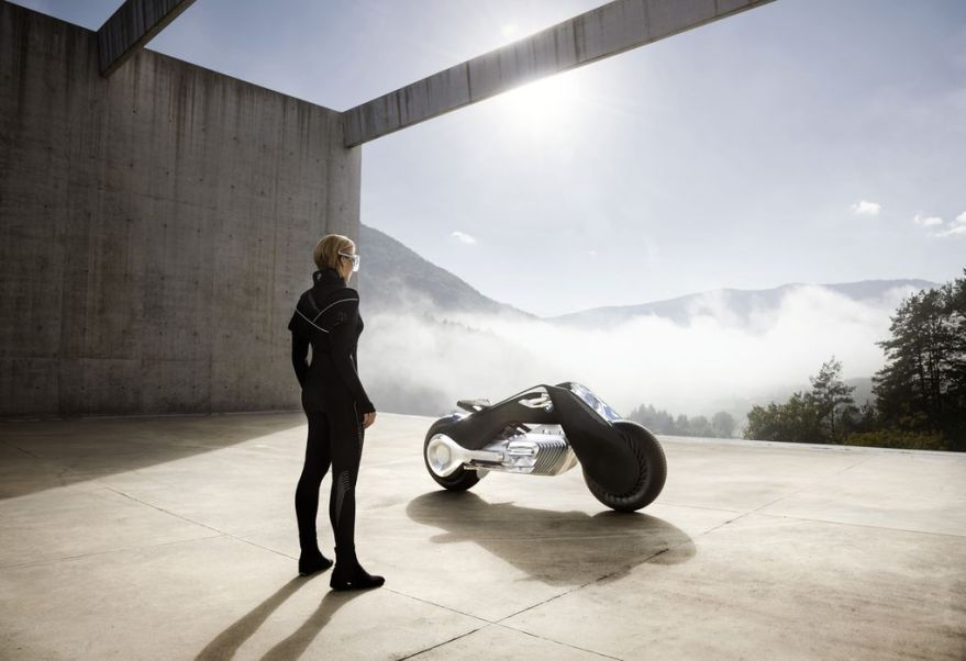 bmw self-balancing motorcycle