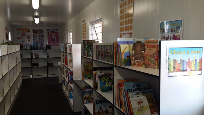 nelson mandela day library