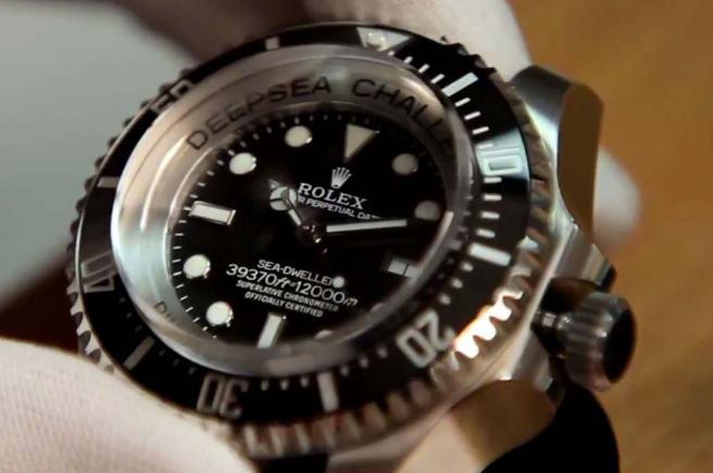deepsea challenge rolex