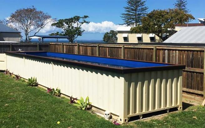 shipping pool container
