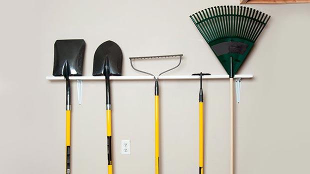 gardening tool rack